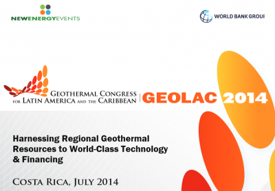 Evento GEOLAC 2014, 16 – 17 de julio, Costa Rica