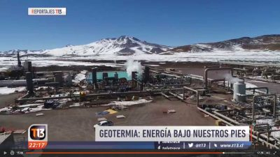 Video: Estado del uso de la energía geotérmica en Chile