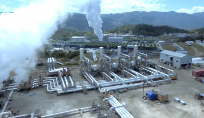 Video – vista de la planta geotérmica Sarulla Geothermal Power Plant en Indonesia