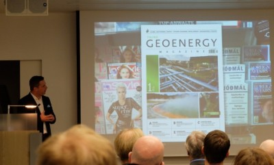 ThinkGeoEnergy presenta en Islandia su nueva revista, Think GEOENERGY Magazine