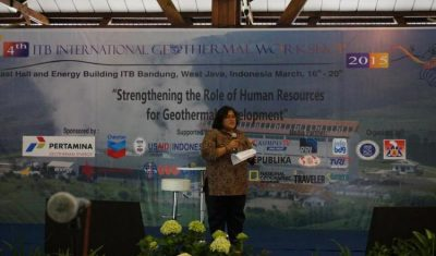 Llamado para envío de Abstracts – ITB International Geothermal Workshop, Indonesia, Marzo 22-23, 2017