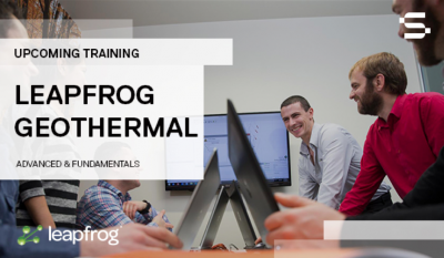 Leapfrog Geothermal Advanced Course, junto con WGC 2020, del 24 al 25 de abril de 2020