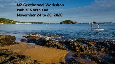 Reserve la fecha – 2020 NZ Geothermal Workshop, Paihia, Northland, NZ, 24-26 de noviembre de 2020